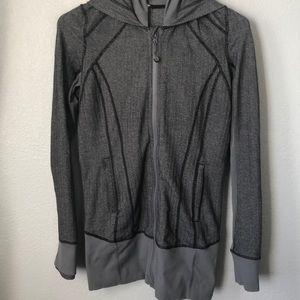 Lululemon hooded herringbone jacket